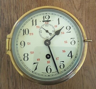 Smiths Astral Ships Bulkhead Clock with provenance from the CS Sentinel
