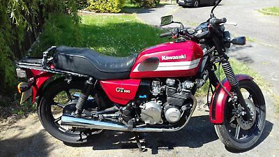 Kawasaki Gt550 Z550-G9 Shaft Drive. Running Project.