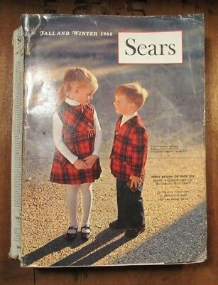 Vintage Sears Fall and Winter Catalog 1966