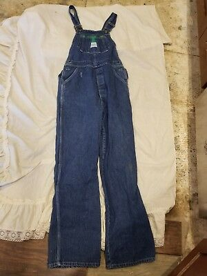 Liberty Overalls Jean Denim Youth Boys Girls 16 or Womens Xs/Small