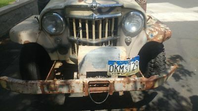 1961 Willys 4x4 1961 willys stationwagon