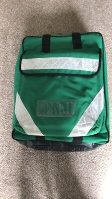 Green Medical EMT/ Paramedic / Ambulance Backpack With Selection Of Pouches