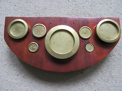Set of Matched Brass weights