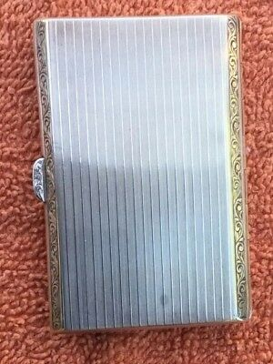 Sterliing Silver Card Case