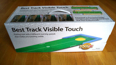 Best Track Visible Touch Puttingmatte NEU 50 x 315cm Golf Time Trainingsmatte