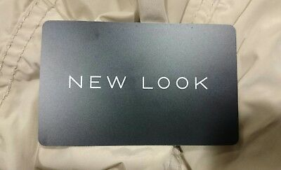 New Look £16.51 Gift card Issued May 2018 New and unscratched