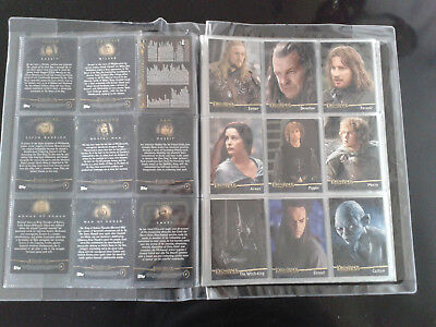 Lord of the rings The return of the King card carte Seigneur des Anneaux