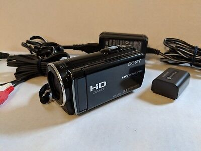 Sony HDR-CX150 16GB High Definition Handycam Camcorder With Charger