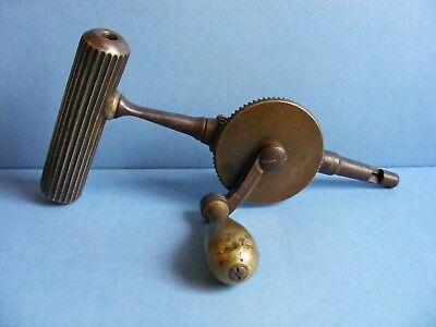 Antique VIctorian TREPANNING TOOL Surgical Trepanation Drill DOWN BROS LONDON
