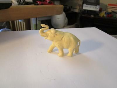 Vintage Cream Colored Elephant Made In Japan