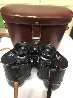 ~~ Carl Zeiss Jena Jenautic 7x50 Binoculars in Case ~~