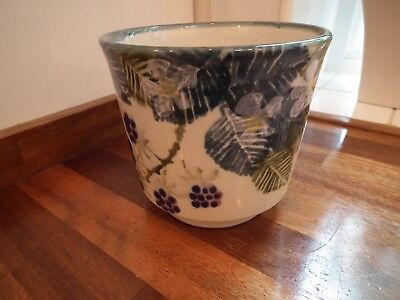 Tain Pottery Scotland Footed Small Planter