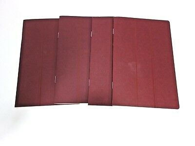 4 HERMES A - Z ADDRESS BOOKs NEVER USED