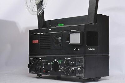 CHINON SS-1200 SUPER 8mm STEREO SOUND PROJECTOR