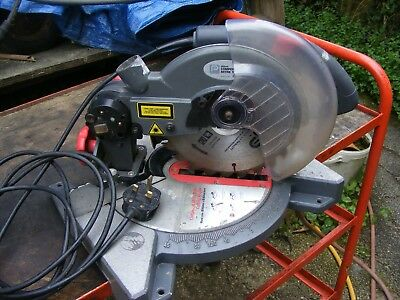 performance power compound mitre saw nle210lms 240v 1200w