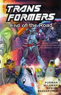 Transformers End Of The Road TPB Graphic Novel
