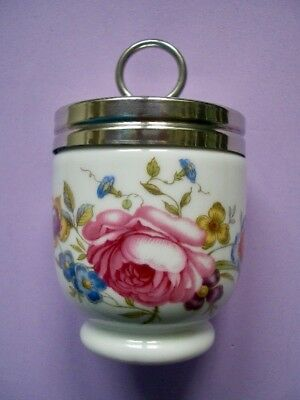 Royal Worcester Egg-Coddler Eierkocher Bournemouth Blumenmotiv OVP