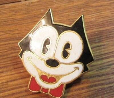 Vintage FELIX THE CAT lapel hat tie pin