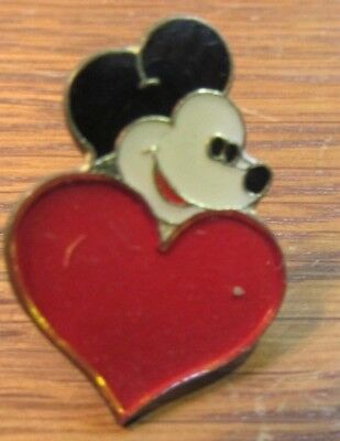 Vintage DISNEY MICKEY MOUSE   lapel hat tie pin