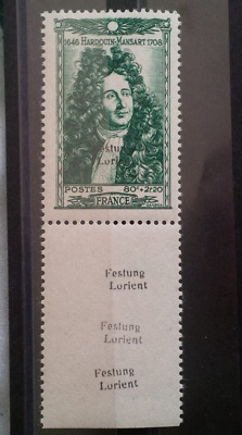 Stamps Germany France Festung Lorient Signed BPP Rare value $10.000 +