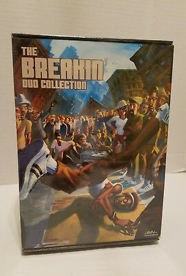 Breakin Electric Boogaloo Collection DVD, 2005, 4-Disc Set New Sealed Hip Hop