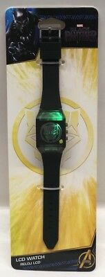 Marvel black panther Boys Lcd Watch