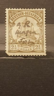 Stamps Timbres Germany German Colonies 1915 GR Mafia  Signed BPP Value $3,000+