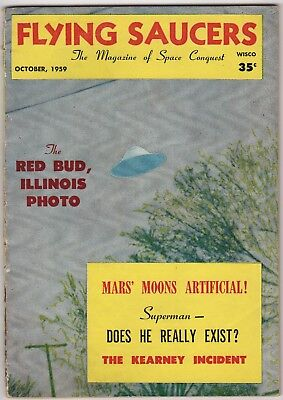 Flying Saucers Magazine Wisconsin, USA Oct 1959 No.26: UFO Interest