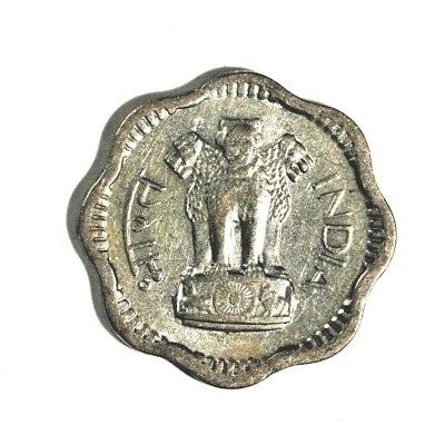 1957 India 10 Paise