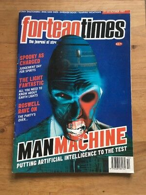 FORTEAN TIMES #103 - MAN MACHINE - OCT 1997 - Practically As NEW