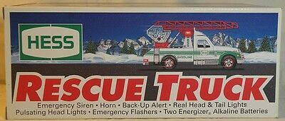 1994 Hess Rescue Truck ~ Nib ~ Adult Collector