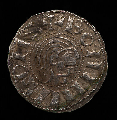 Anglo-saxon silver coin Viking period