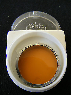 Vintage Walz 36mm Push On Daylight A C Lens Filter To Suit Leica f/5cm Lenses