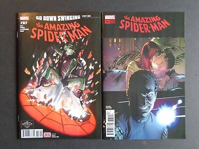 Amazing Spider-man #797 NM 1st & 2nd Print Lot of 2 Osborn Red Goblin Carnage