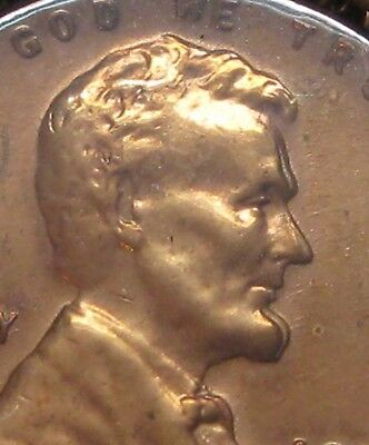1957 D Lincoln Cent Strong Double Profile Nice Uncirculated