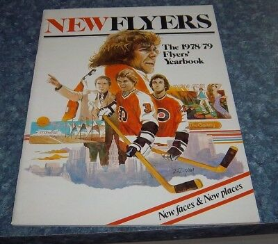 Hockey Philadelphia Flyers  1978 -79 Yearbook Bobby Clarke New Flyers