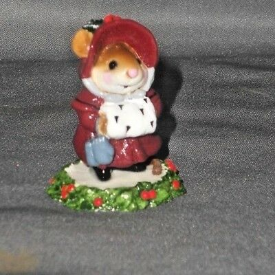 Wee Forest Folk Christmas Mouse
