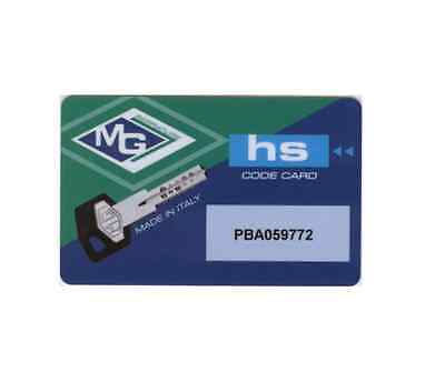 COPY KEY MG Hs Series Protected Duplication Card Card Security