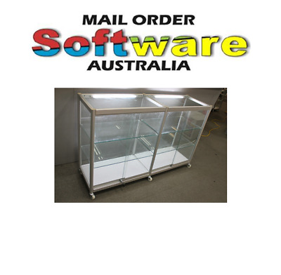 Visible Glass Display Cabinets Suitable for Shop, Model cars, jewellery New