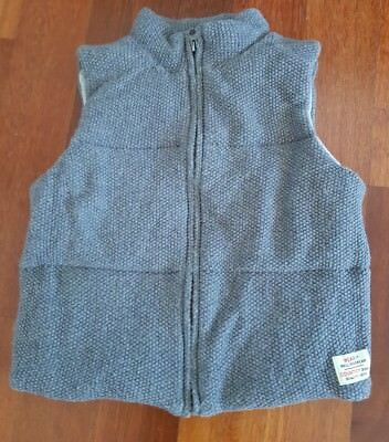 Boys Country Road Wool Vest