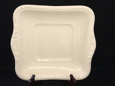 "Wedgwood Queen's Ware EDME 10"" SQUARE HANDLED CAKE PLATE Serving Platter Tray"