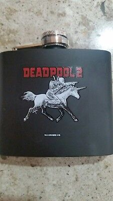 Deadpool Collectible Flask Stainless Steel Flask....5 oz Limited- NEW