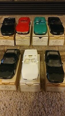 Chevrolet Corvette Promo Lot of 7! Out of box for first time...No Reserve!