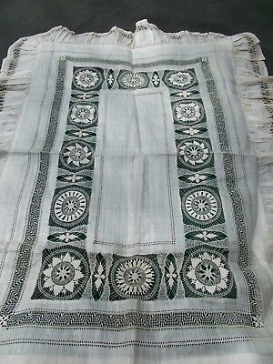 Breathtaking raw silk pillowcases, pair...exquisite openwork  c. 1920