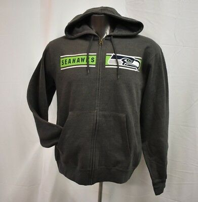 79fc7dbd NEW MENS NFL Majestic Seattle Seahawks Pullover Hoodie Blue Big and ...