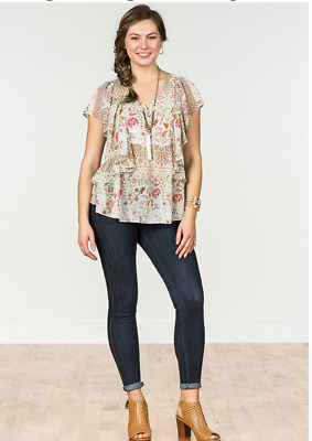 MATILDA JANE - Fly By Top! Med. NWT