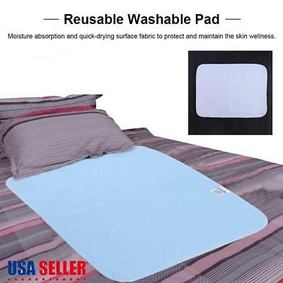 2/6× Premium Reusable Washable Bed Pad Waterproof Incontinence Hospital Underpad
