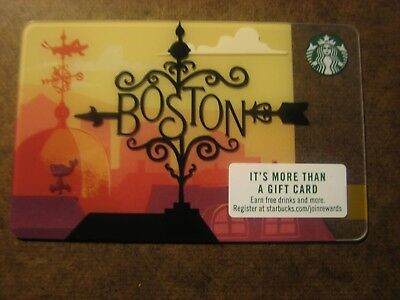 Starbucks 2018 Boston City Card