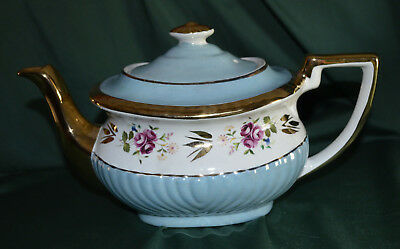 Beautiful Vintage Gibsons Staffordshire Porcelain Teapot