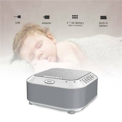 Baby's 5 Soothing Sounds Sleep Aid Device for Fast Sleep Using Sound Machine